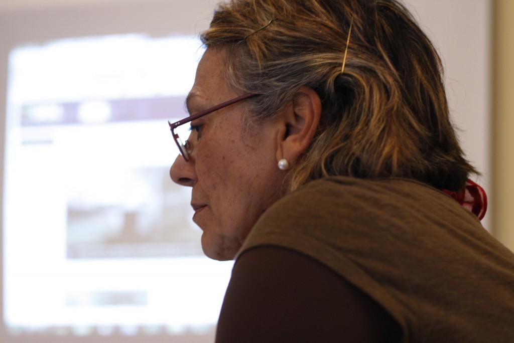 Regina Favre, julho de 2011